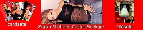 Sarah Michelle Gellar Solitaire - index page
